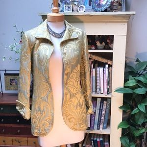 Brocade Quadrille New York Jacket